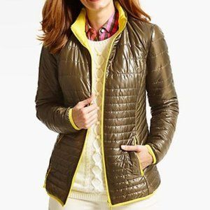 Fall Talbots Quilted Puffer Jacket / coat